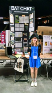 "Alexis ""Bat Girl"" Valentine's Science Fair Project"
